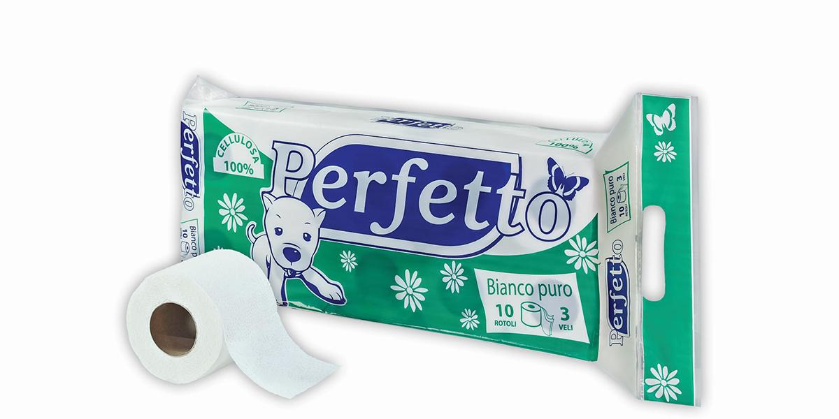 001 perfetto classic toalet papir