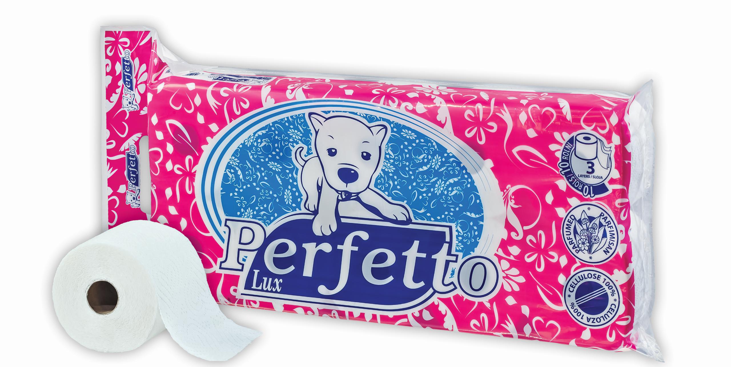 perfetto lux toalet papir