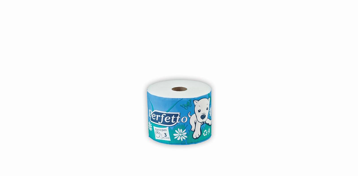 perfetto toalet papir na komad