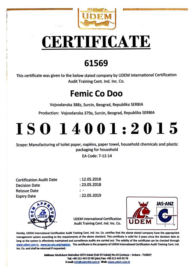 sertifikat femic co