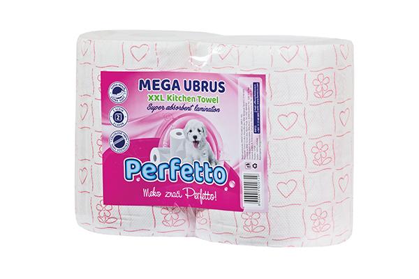 PERFETTO JUMBO TOWEL DELUXE 2/1 MEGA XXL PRINTED