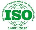 ISO sertifikat 14001:2015