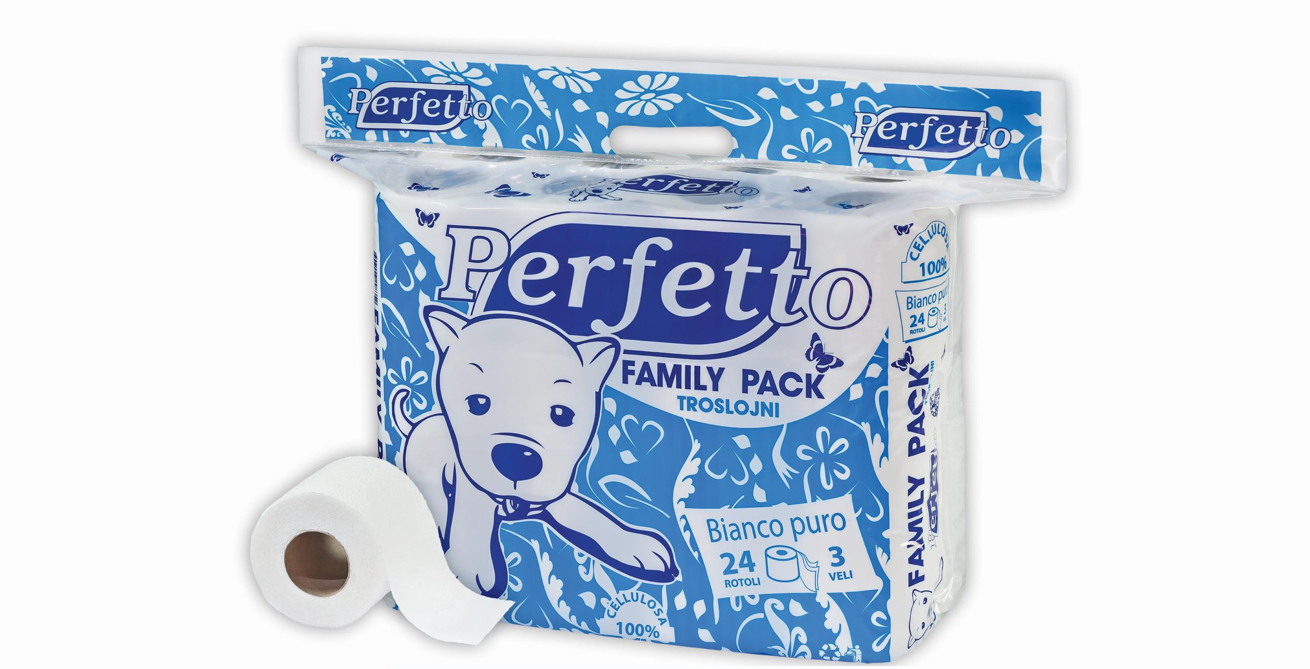 perfetto porodicno pakovanje toalet papir