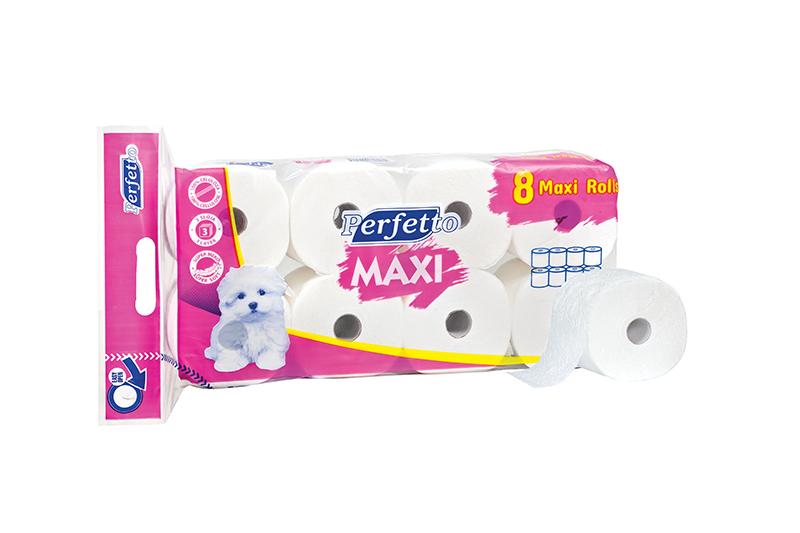 8 maxi toalet papir